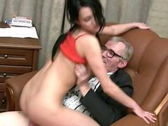 Dick sucking for a horny educator