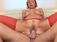 Horny Granny Sucks Dong And Purchases Fucked