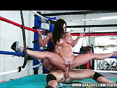 Supple Kendra Lust gains railed