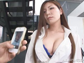 taking pictures of the teacher's big tits