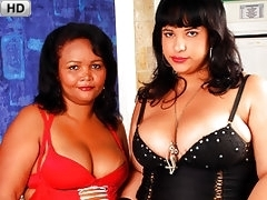Sexy Lesbian BBWs Try To Set A World Record Of Orgasms