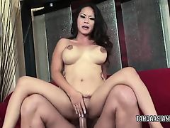 Jessica Bangkok takes some rod in her pussy