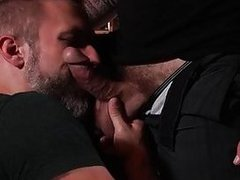 Dirk Caber takes Colby Jansens hard stick balls deep