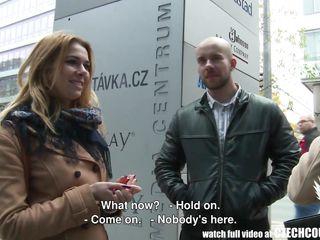 czech couple fucks on camera for cash