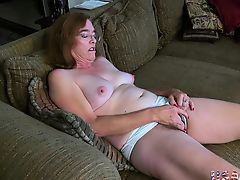 USAwives Old Grandma Carmen Wavy Pussy Fingering