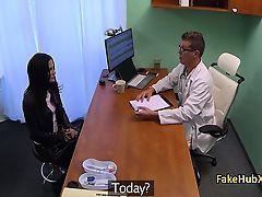 Doctor fucked horny sexy patient