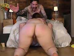 British Plumper Estella Bathory Fucks Tattooed Chap