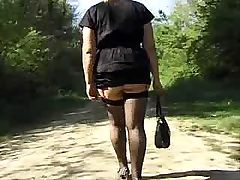 Big-breasted French mature female gets her beaver destroyed seriously