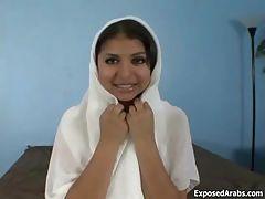 Cute Arab slut finger fucking her pussy part3