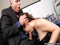 Kristina Rose horny office boss