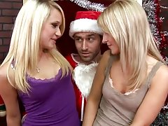 Christmas Threesome with Jayla Diamond and Teagan Summers