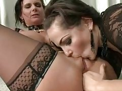 Phoenix Marie has her brown eye mercilessly stretched