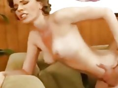 Curly Blonde Fucks Hardcore And Swallows Cum