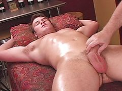 Teen stud getting treated well