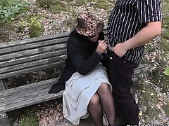 Slutwife fucked by strangers in parking area