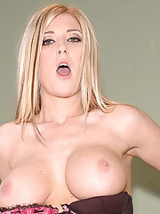 Stunning Large Titted Blondie Michelle B