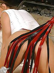 Christina Lesbian Slave Training