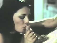 brutally hot retro blowjob