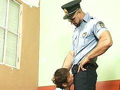 Dominant Jail Warden